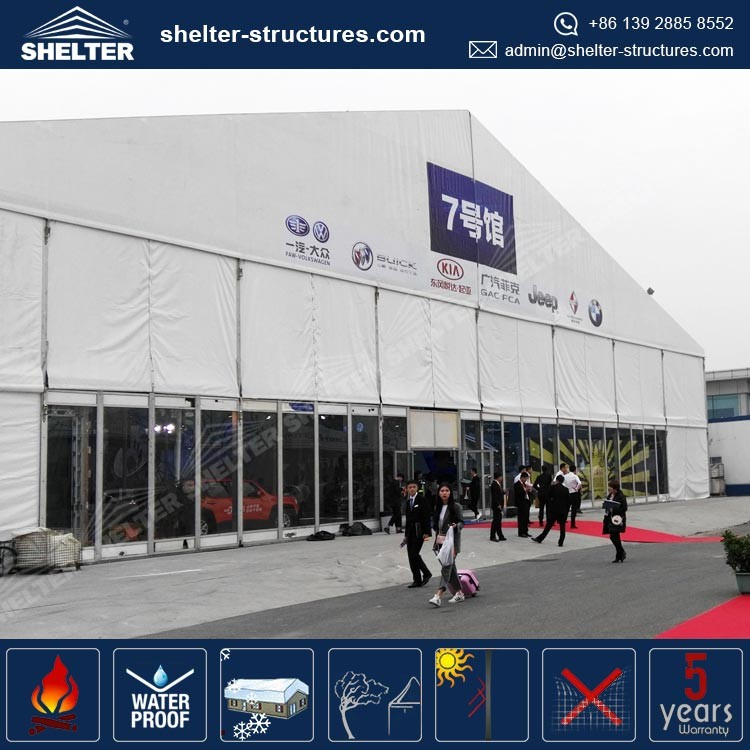 25m width tents Qingdao Promotional sale Second hand event tents for sale easy to install with widely use