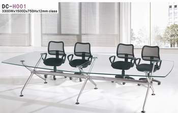 Glass Top Conference Table Meeting Room Desk Buy Conference Desk - Glass top conference room table