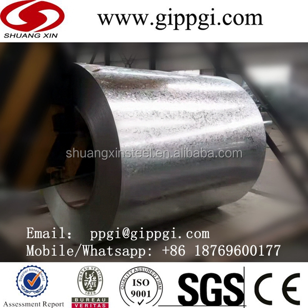 galvanized line produce zinc coated steel sheet in coils
