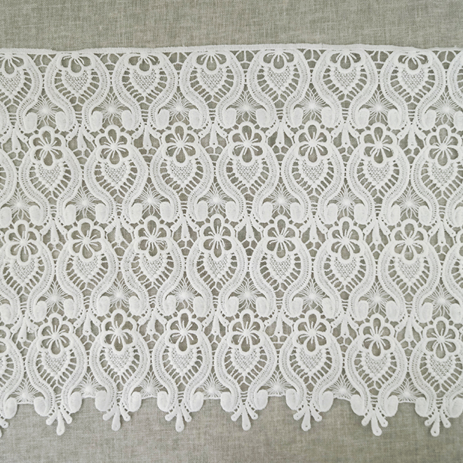 New Style Wide Border Indian Bridal Lace Trim Wholesale