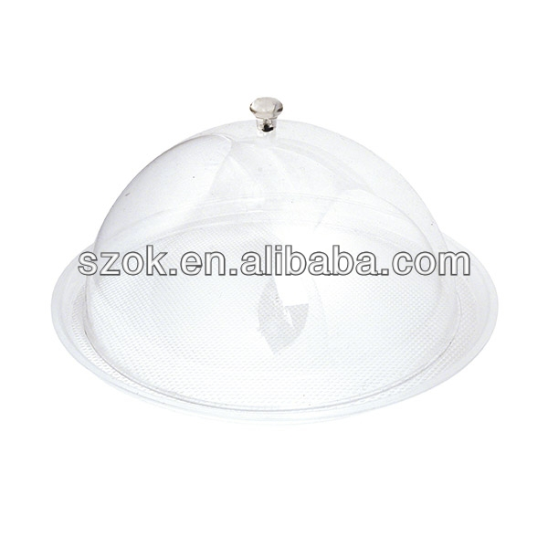 clear acrylic custom display cake dome cover with bases wholesale