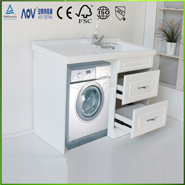 High end latest design for washing machine cabinet with for Kitchen cabinet washing machine