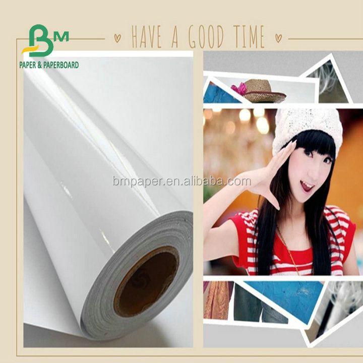 2018 waterproof 35 inch 260 gsm high glossy photo paper use for making Printing photos