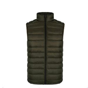Warm Traditional Wholesale Fishing Sport Men's Winter Down Cheap Vest & Waistcoat