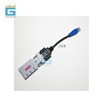 Switch serial wireless Bluetooth module RJ45 to BT578 RS232 line serial Bluetooth router Console line