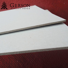 Book Cover Grey Board 1mm 2mm 3mm Thick Laminated Grey Chipboard