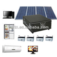 portable solar dynamo power generator,220V/110V 3000W Home Solar Powred Generators
