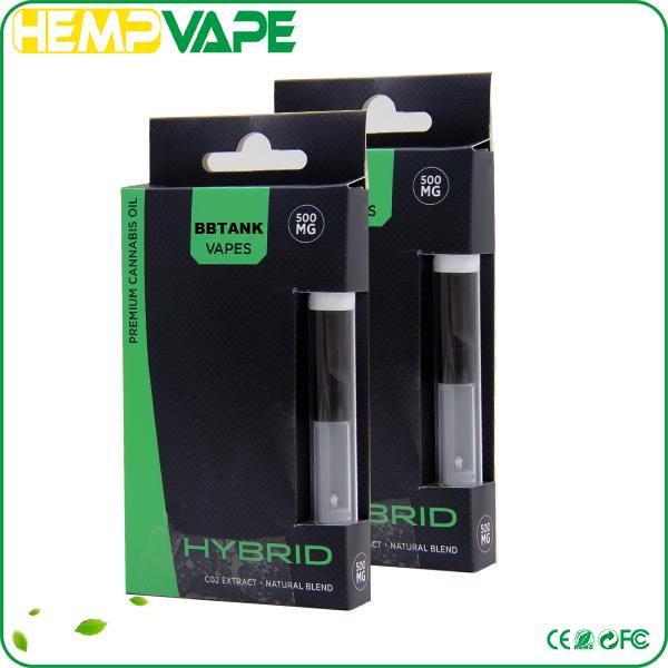 2017 Hot New Cbd Oil Pen Vape Pen Cartridge Packaging/bbtank Clear ...