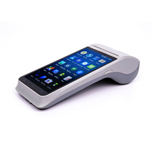 2018 NEW 1D/2D barcode reader/Card readers Wireless Mobile android handheld pos terminal Z91 for ticket printing/online order