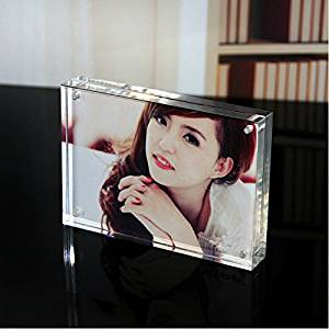 """Acrylic Magnetic Photo Holder 6""""x8""""(a5)"""