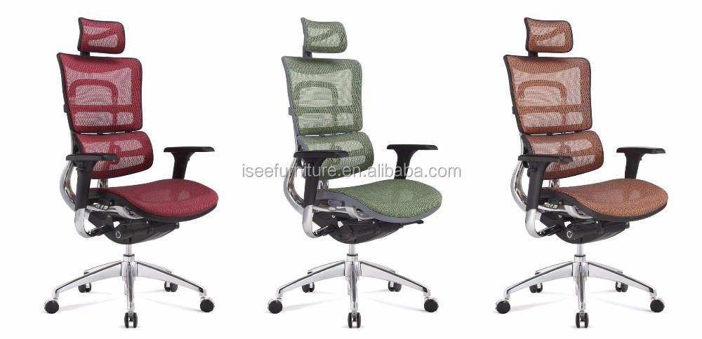 moderne aussehen bunte aeron b ro ergonomischen mesh stuhl. Black Bedroom Furniture Sets. Home Design Ideas