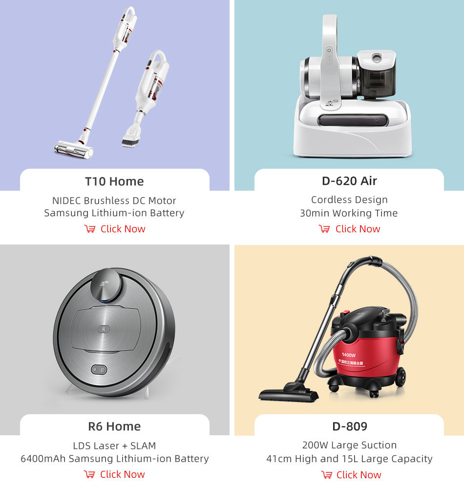 Puppyoo A10 Cordless Portable Vacuum Cleaner for Home Car office sofa mattress small and light