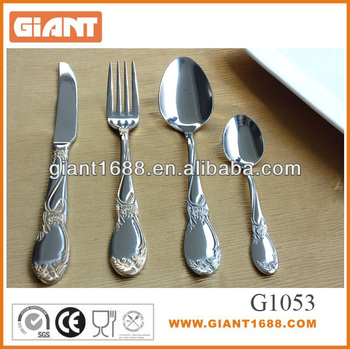 Hot sell High quality stainless steel flatware