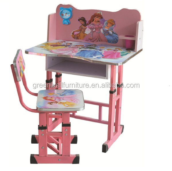 Superb New Design Wooden Plastic Kindergartan Kids Study Table Part 22