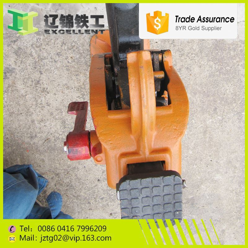 SCQ-200 Good quality railroad ties competitive rice jack