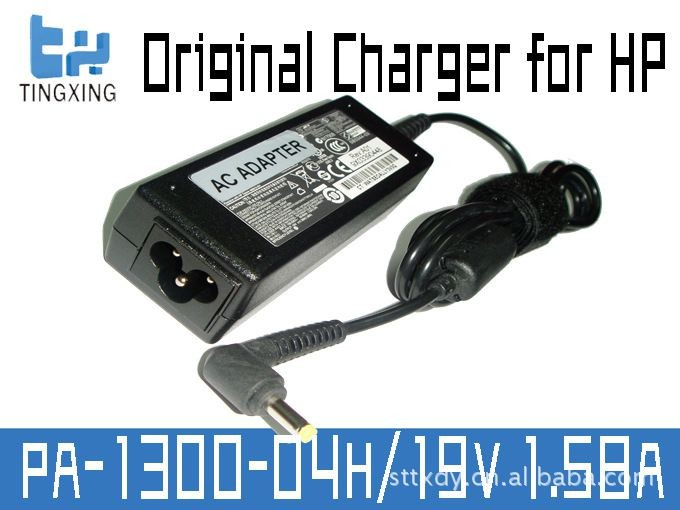 Genuine for HP Mini Series AC Adapter 19V 1.58A 30W PA-1300-04H / PPP018L, with DC 4.0x1.7mm