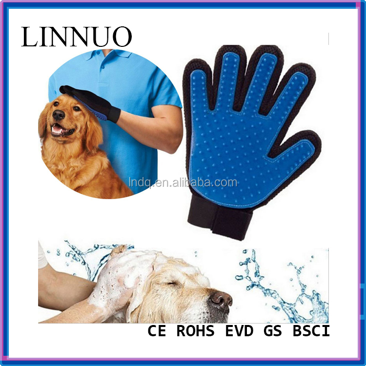Cleaning Bath Gloves, Pet Grooming Glove Brush