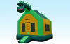 Hot sale inflatable jumping castle, bouncy house for kids, Dinosaur Jumper