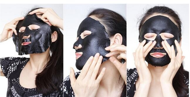 Rolanjona wholesale whitening black mask cleaning face mask black
