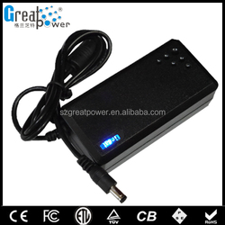 2017 factory price smps 24w universal laptop charger ac/dc 24v adapter/pc power supply