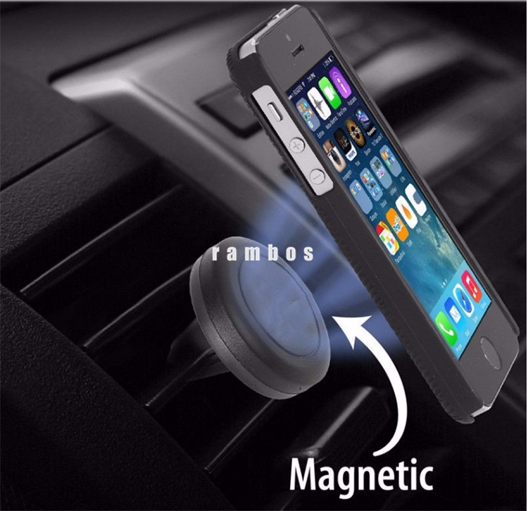 Universal Air Vent Magnetic Car Phone Mount Holder Cradle Stand for Iphone 7 for Samsung Galaxy S8