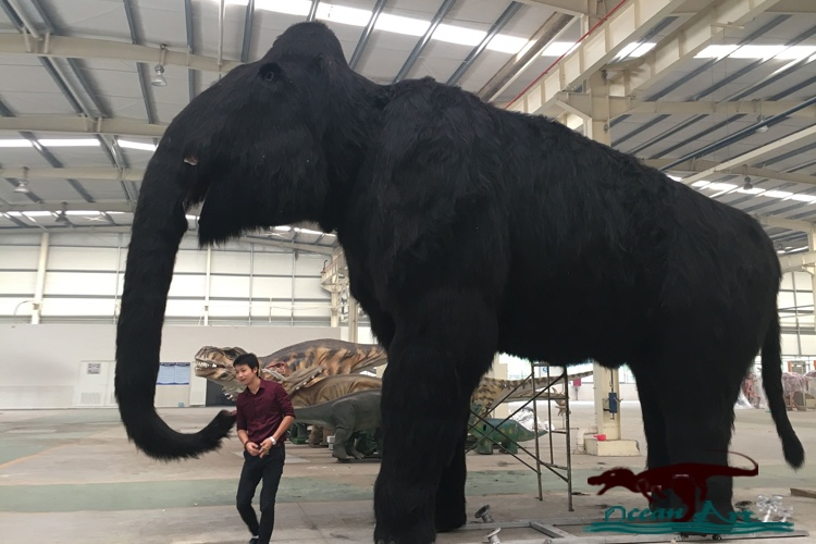 OA3838 Professional Animatronic Elephant Model Life Size Elephant For Sale