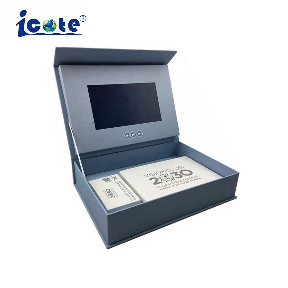 7.0 pollici di Fabbrica Direttamente Video di Presentazione Boxe Con Schermo LCD TFT