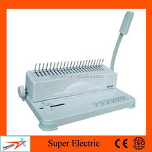 For Office Binding Use Manual Perfect Plastic Punch Machine for Book Binding