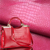 bag material faux leather embossied snake skin 100% pu synthetic leather for bag shoe
