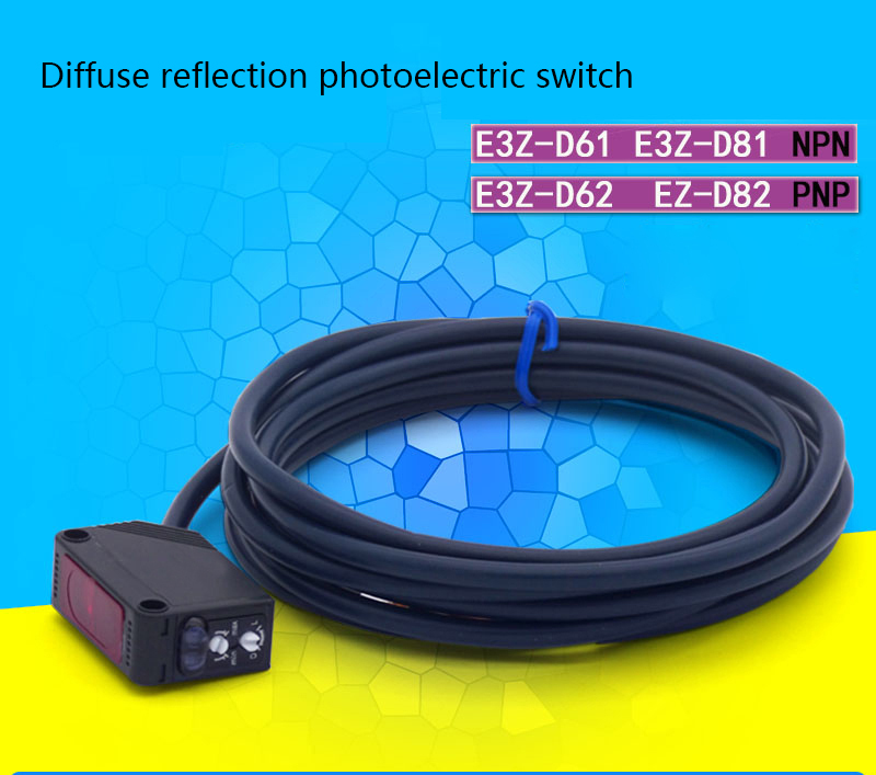 Infrared photoelectric sensor Diffuse diffuse reflection type photoelectric switch sensor E3Z-D62 E3Z-D61