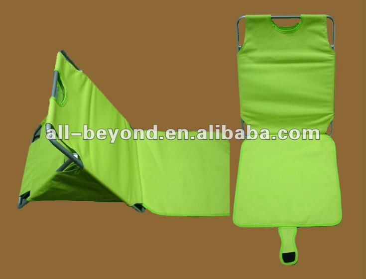 600D polyester padded foldable waterproof beach chair beach mat