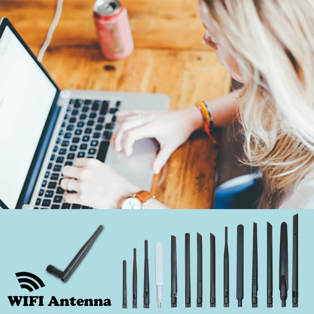 black rubber external antenna for cellular router