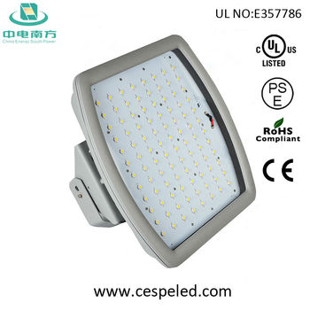 400W HPS replacement 120w UL CUL CE ROHS PSE ATEX Anti-explosion LED Gas Station Light