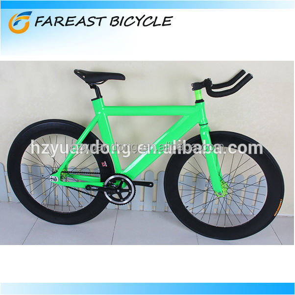 New Single Speed 700c Fixed Gear Bicycle Road Bicycle Aluminum