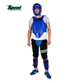 Brand PU Leather Sanda Training Equipment Boxing Protective Gear 4pcs Set Thick Head Guard Chest Protector