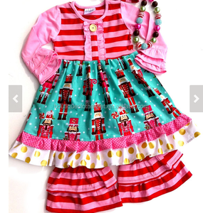 christmas nutcracker dress set girls winter holiday outfits baby boutique outfits for christmas