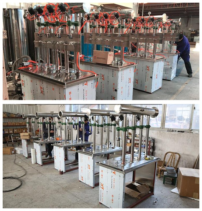 Manufacturers direct beer four - head filling machine price