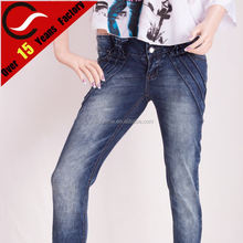 New fashion jeans pants jeans for women