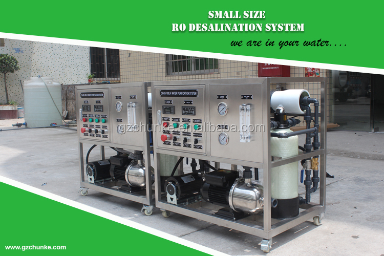 3T Seawater Desalination f Water Treatment Plant/ Sea Water to Drinking Water Machine / RO Water Desalination Plant