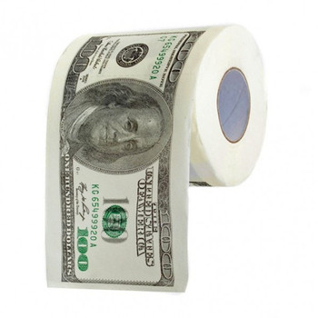 Fantaisie Dollar D'Argent Imprimé Papier Toilette - Buy Product On