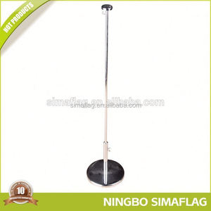 Stable performance factory directly table flag with crystal stand