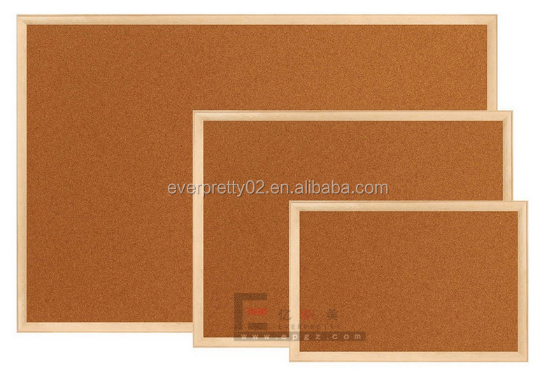 High Quality Memo Board, Cork Board with wooden Frame