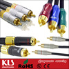 Good quality vga to 3 rca component video cable UL CE ROHS 037 KLS brand