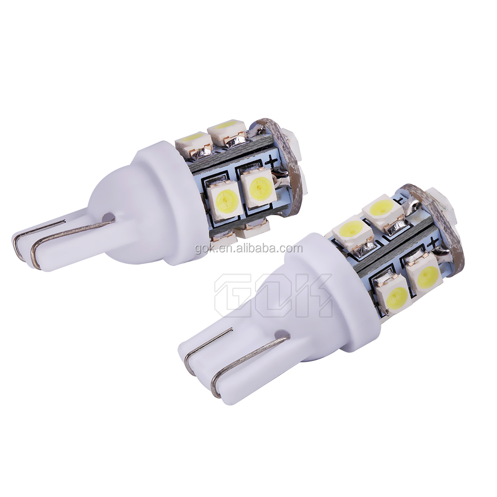 Car led T10 10LED 1210 SMD Car Bulb Car Auto LED T10 W5W 194 W5W 3014 Wedge Light Bulb Lamp t10 10SMD White
