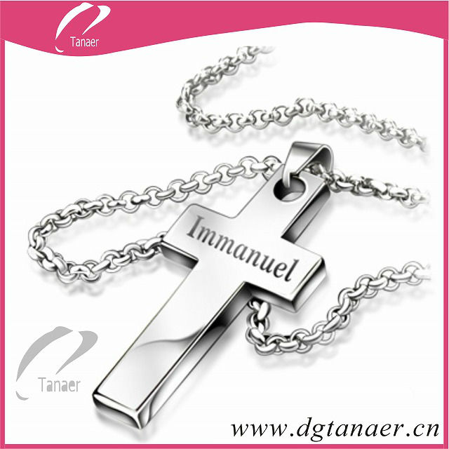 2013 New fashion cross pendant 316L stainless steel pendant