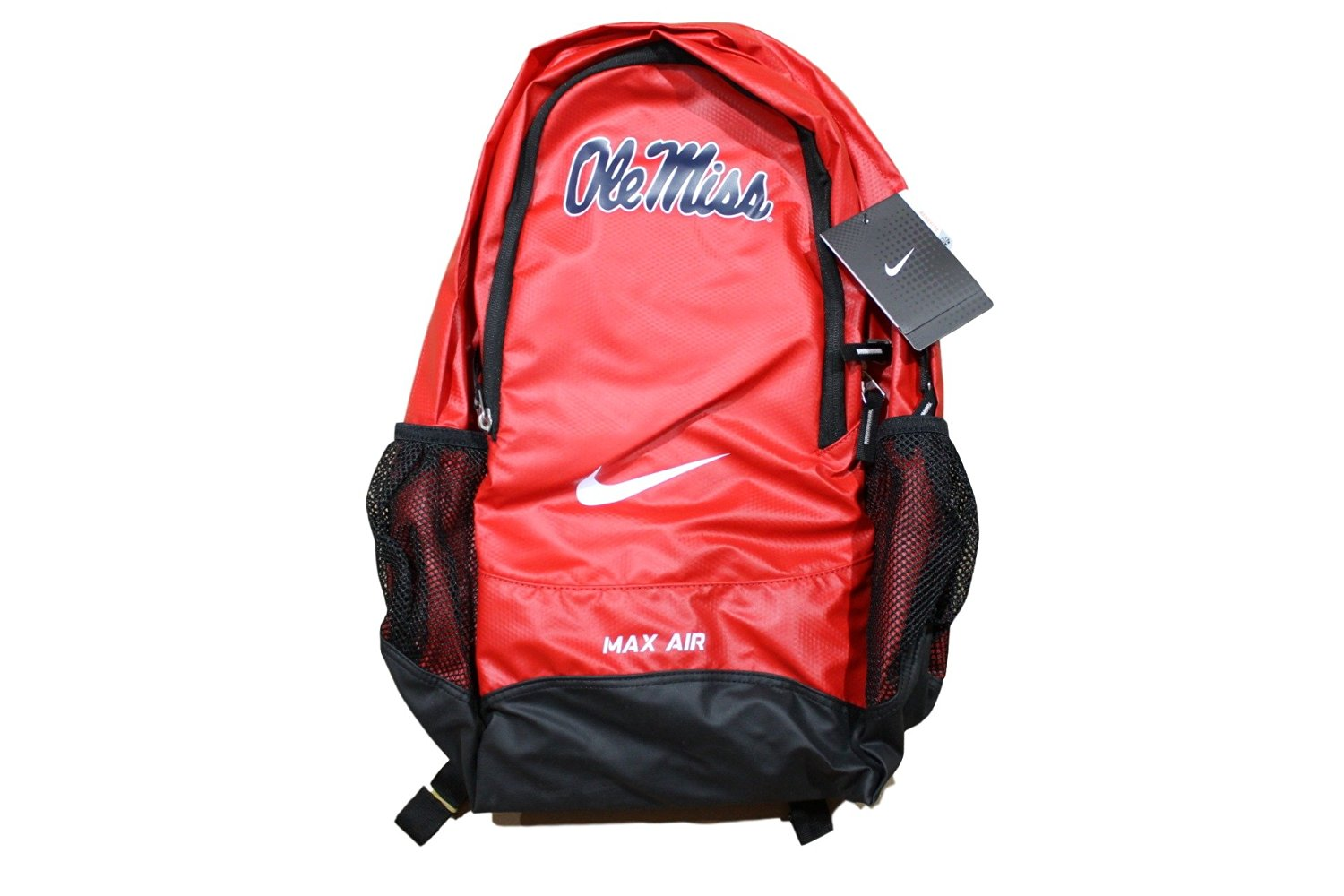 bc147f5241 Get Quotations · Nike Adult s Max Vapor Air Ole Miss College Backpack One  Size