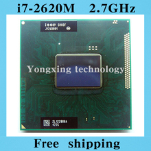 Core i7 2620M 2.7GHz 4M Dual eight threads SR03F 2620 Notebook processors Laptop CPU PGA 988 pin Socket G2