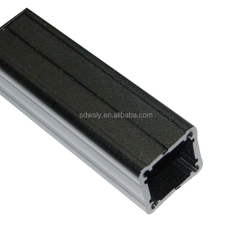 Aluminum square pipe tube anodized profile buy