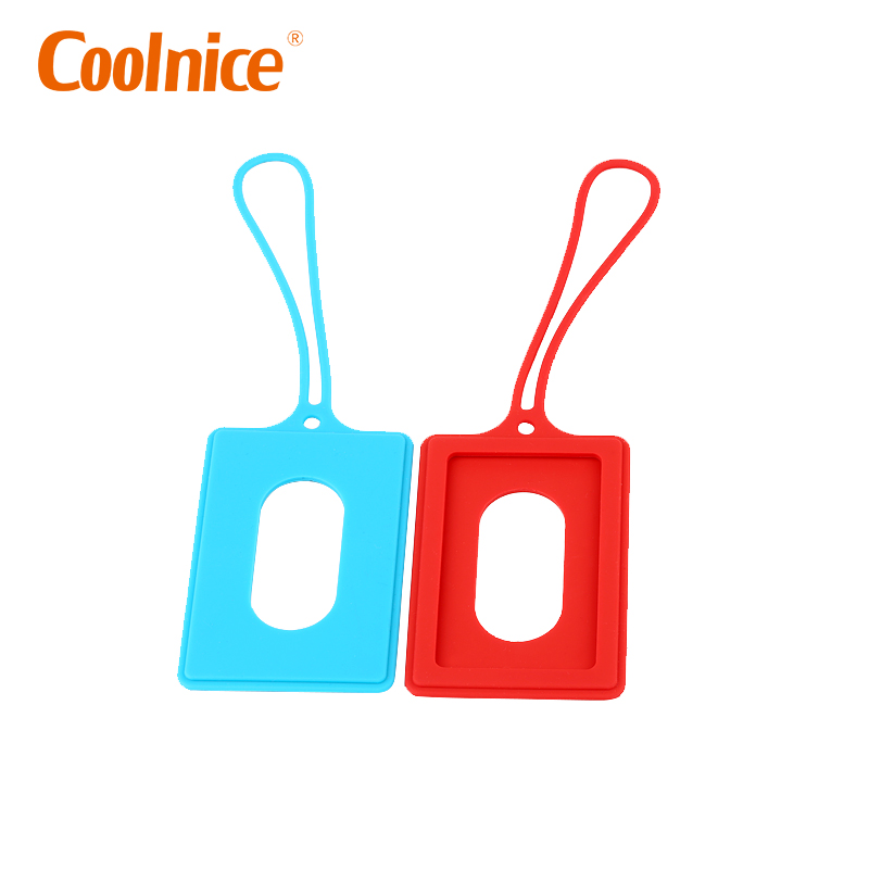 OEM Durable Strap High Quality Standard Size Soft PVC Luggage Tag With Inserts