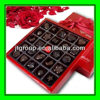 Ribbon Tie Printing Paper Wrapping Valentine Gift Chocolate Box